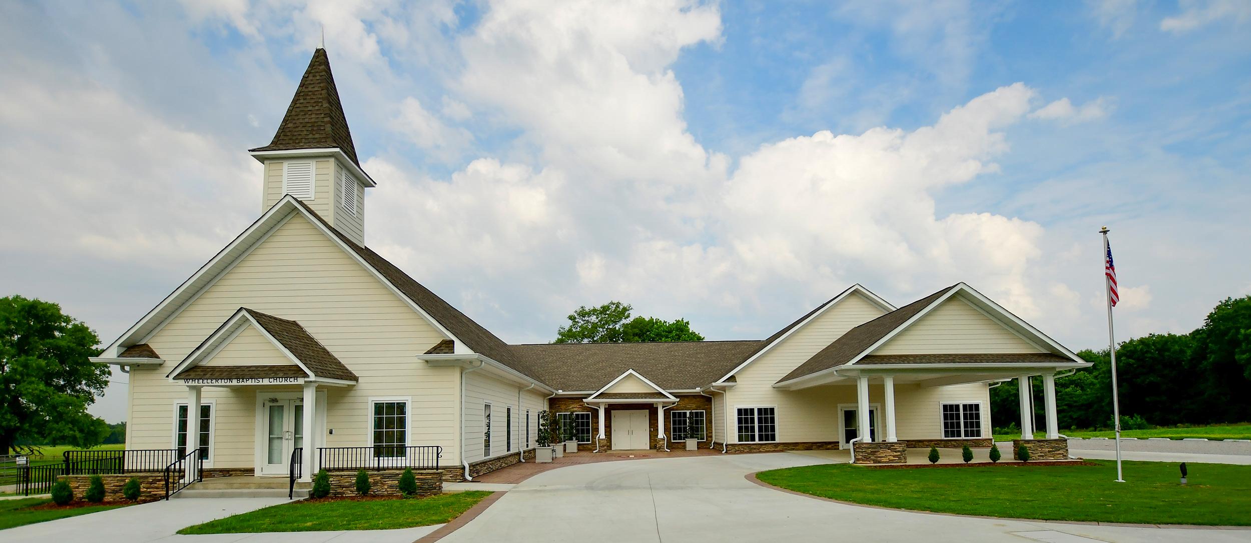 Wheelerton Baptist Church | Dellrose, Tennesee | Brindley Construction
