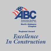 Associated Builders & Contractors of North Alabama Regional Excellence in Construction Award | Brindley Construction