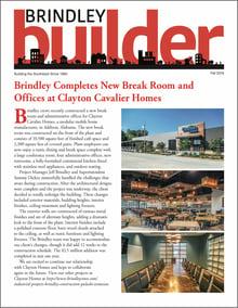 The Brindley Builder | Fall 2018 Issue | Brindley Construction