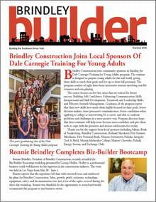 The Brindley Builder | Summer 2019 Issue | Brindley Construction
