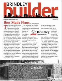 The Brindley Builder | Summer 2020 Issue | Brindley Construction