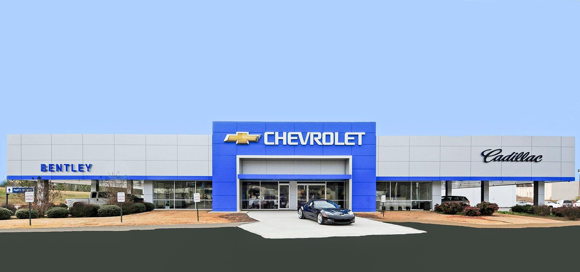 Bentley Chevrolet | Florence Alabama | Brindley Construction, LLC.