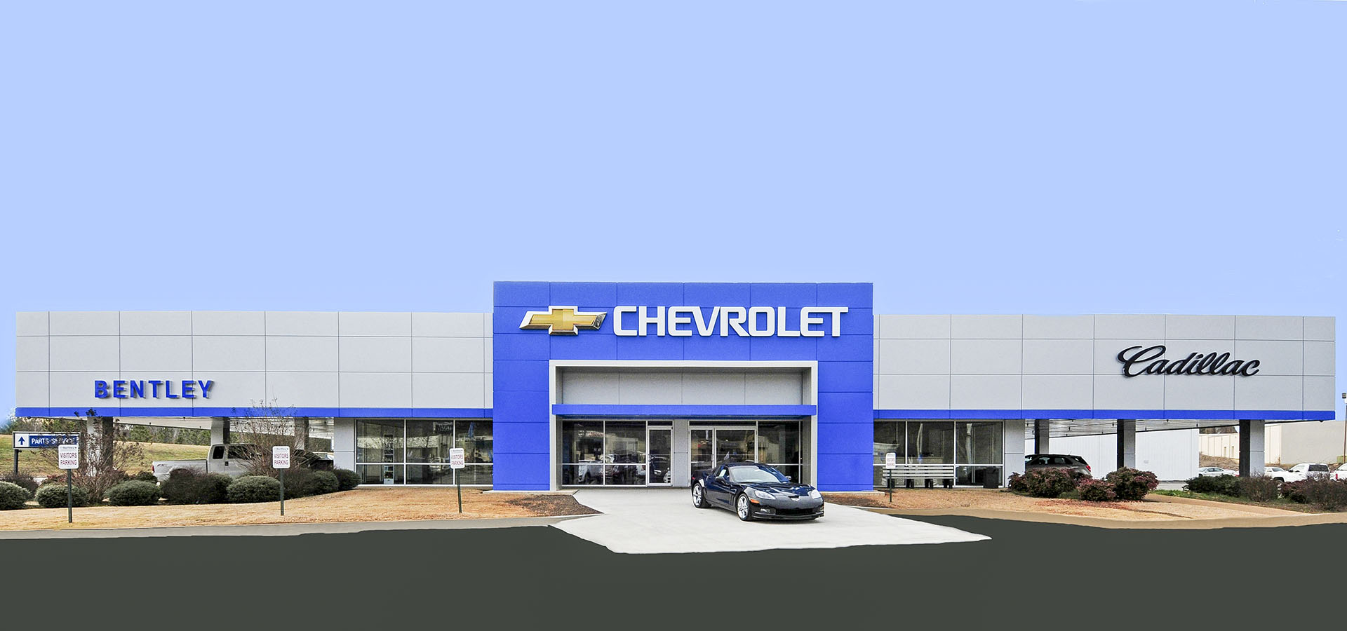 Bentley Chevrolet | Florence Alabama | Brindley Construction, LLC.