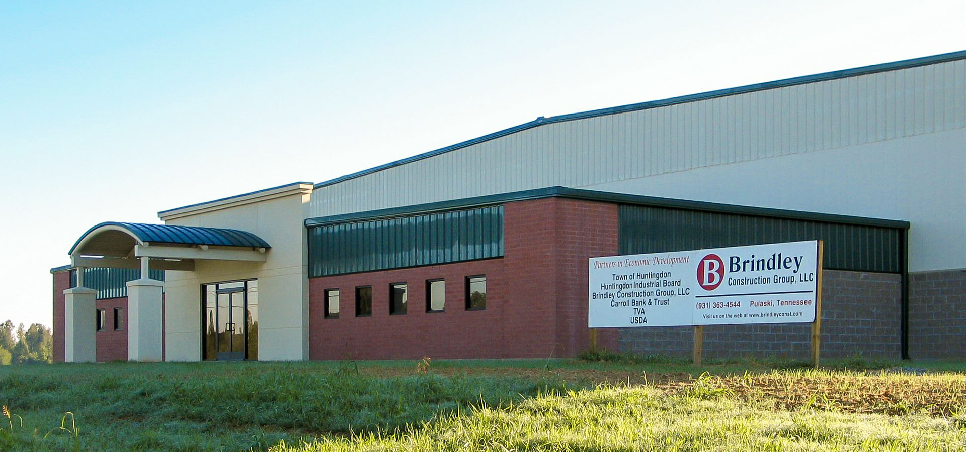 Carroll County Industrial Building | Huntingdon, Tennessee | Brindley Construction