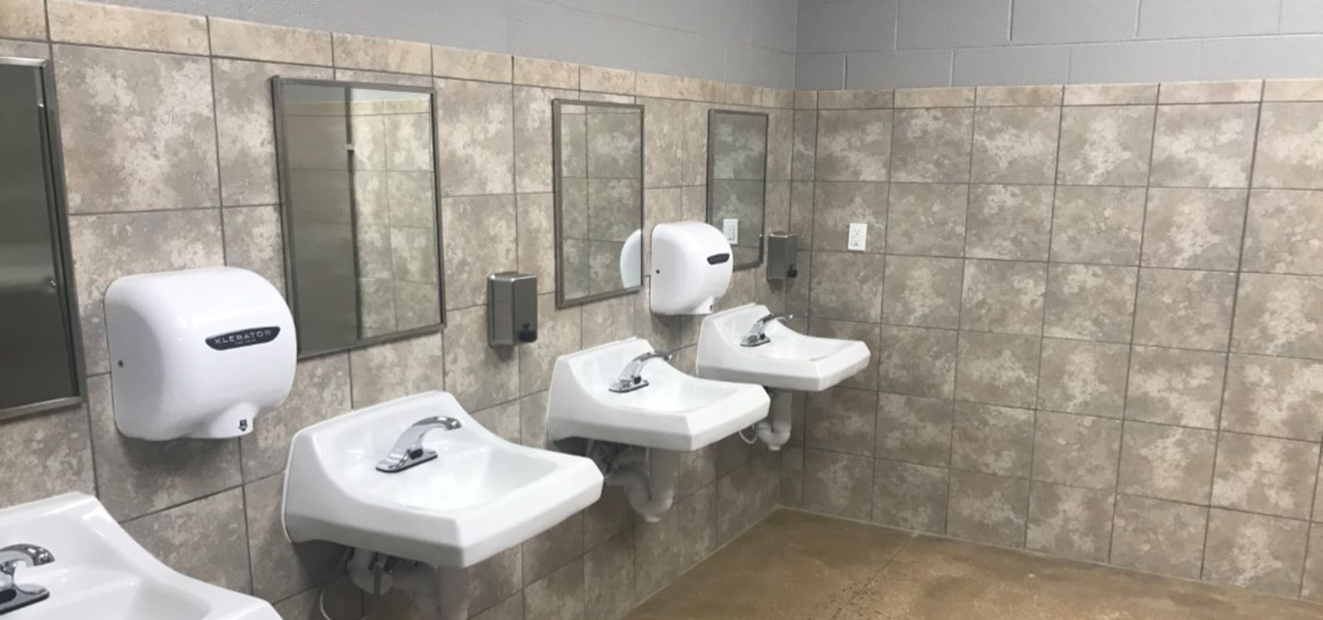 Clayton Homes | Restroom Renovation | Brindley Construction