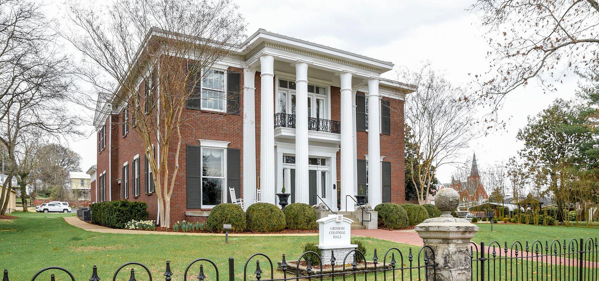 Colonial Hall Martin Methodist College | Brindley Construction, LLC.