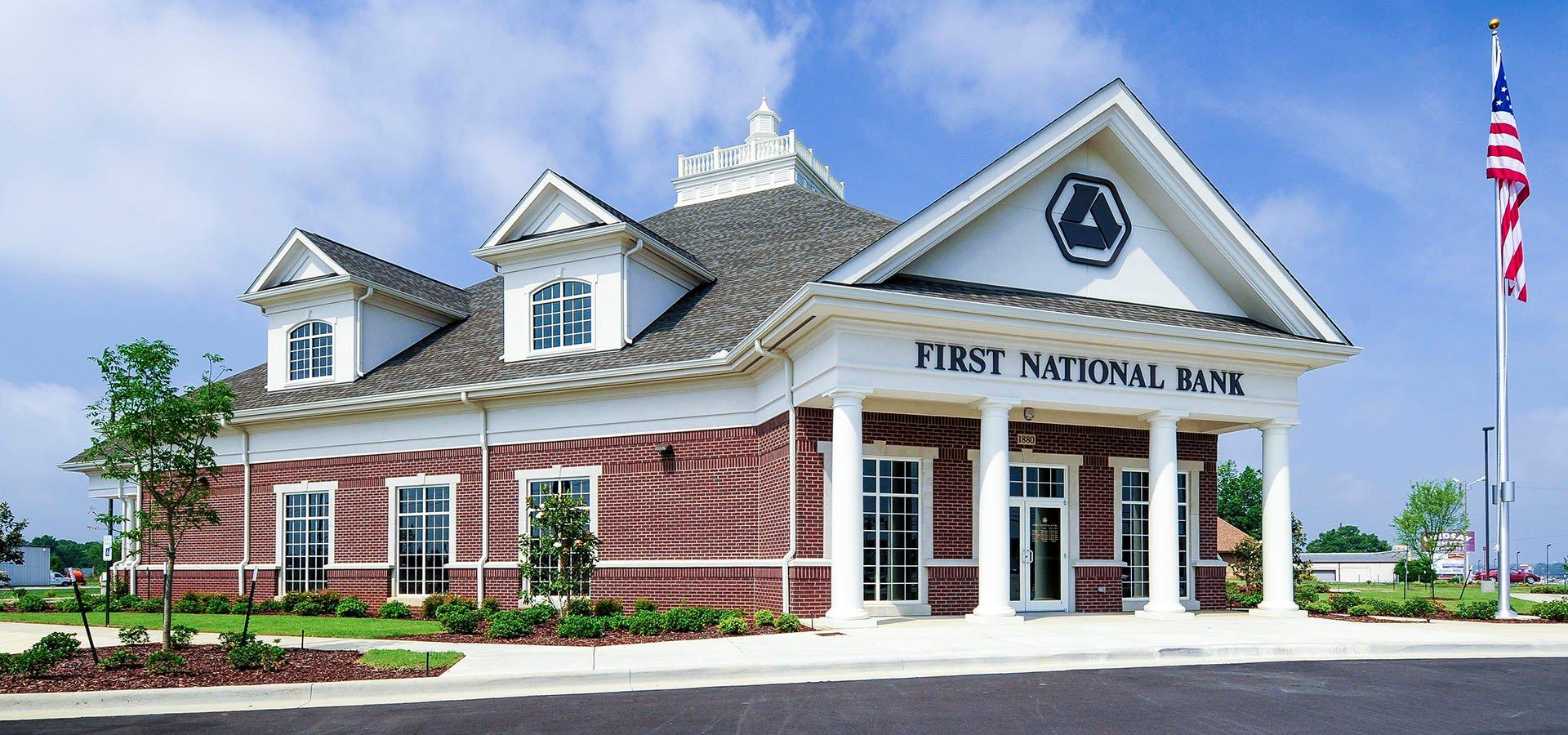 First National Bank | Athens, Alabama | Brindley Construction