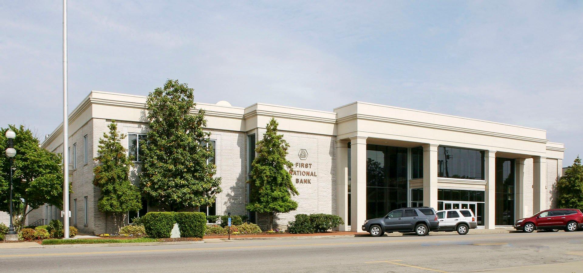 First National Bank of Pulaski   Pulaski, Tennessee   Brindley Construction, LLC.