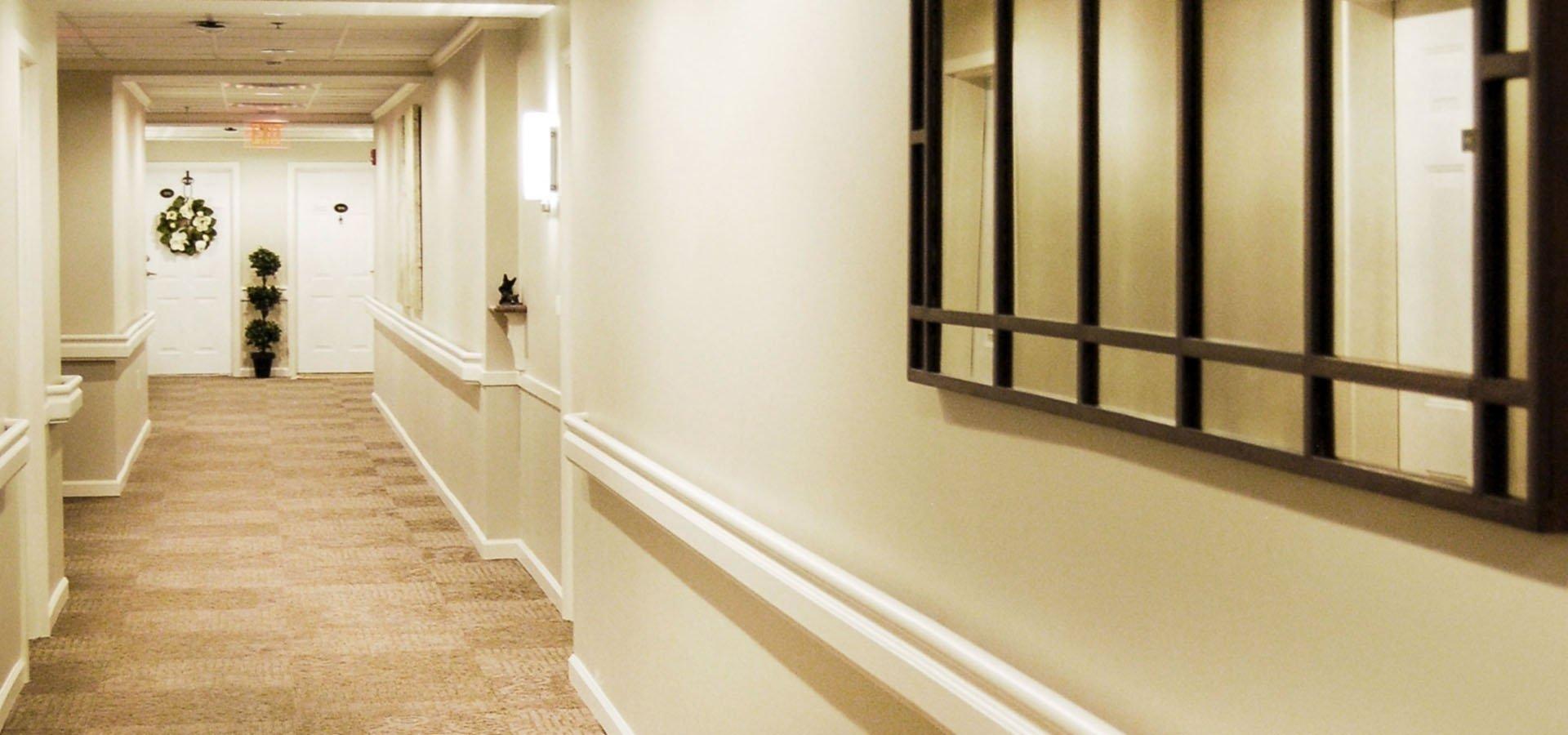Magnolia Trace | Hallway Renovation | Brindley Construction
