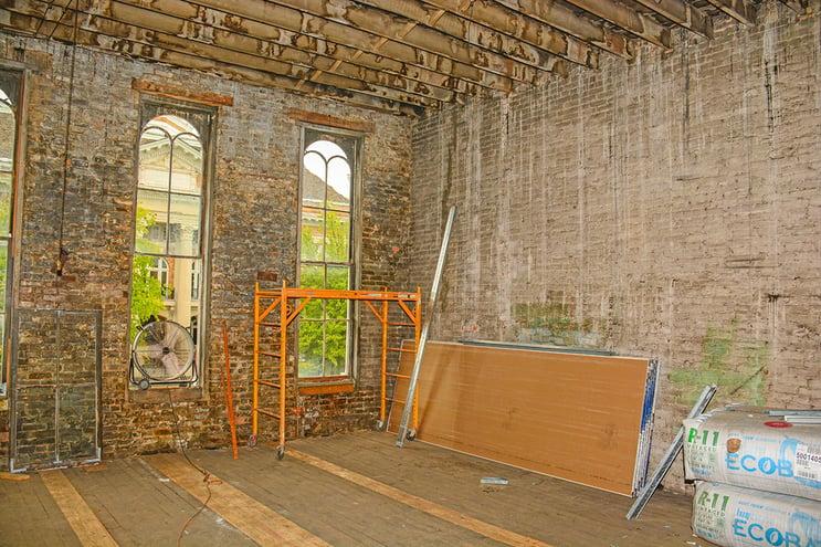 Interior before renovation | Standard Drug | Pulaski, TN