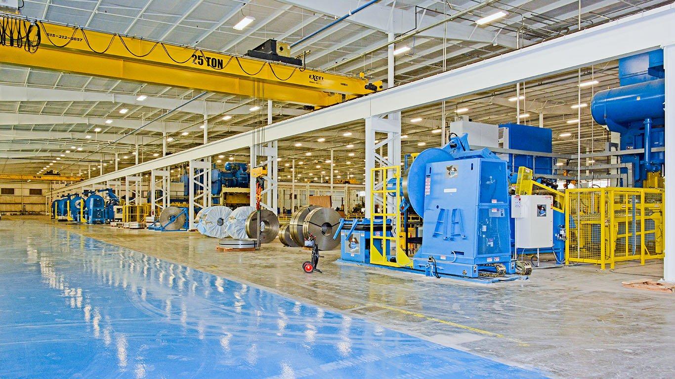 North American Stamping | Brindley Construction | Pulaski, TN