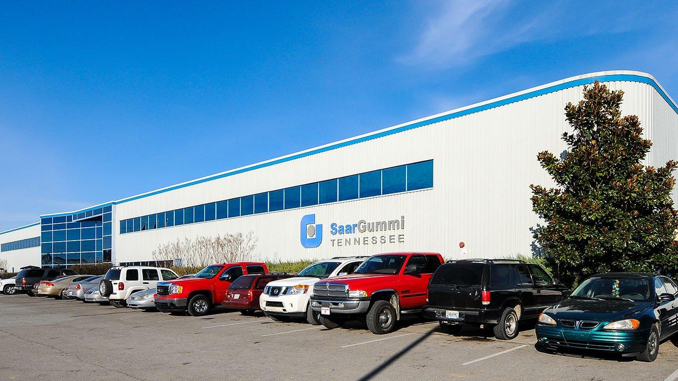 SaarGummi Plant | Brindley Construction | Pulaski, TN