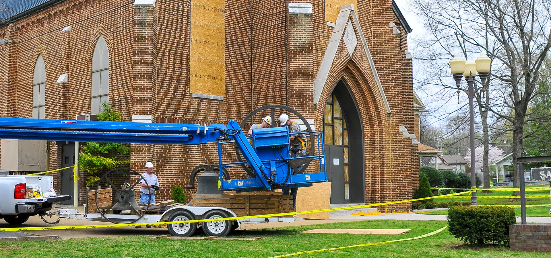 Sacred Heart Church | Bell Tower Restoration | Brindley Construction