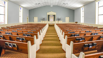 Second Street Church of Christ Sanctuary | Brindley Construction