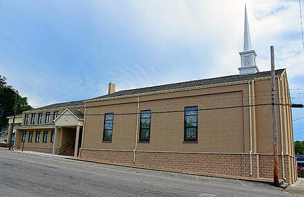 Second Street Church Exterior | Brindley Construction