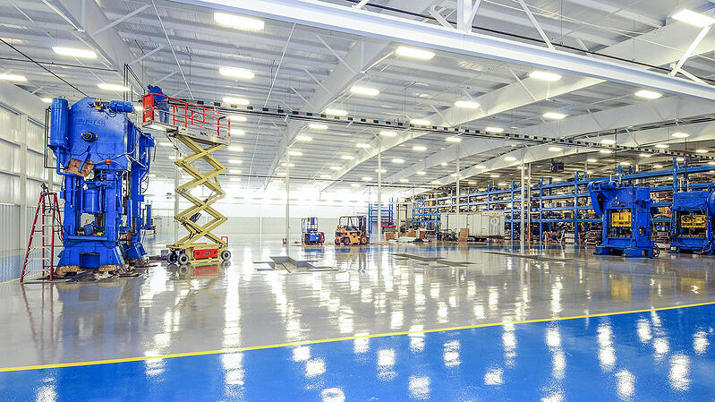 North American Stamping Group Tennessee South | Pulaski, Tennessee | Brindley Construction