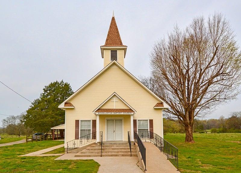 Wheelerton Baptist Church | Dellrose, TN | Brindley Construction