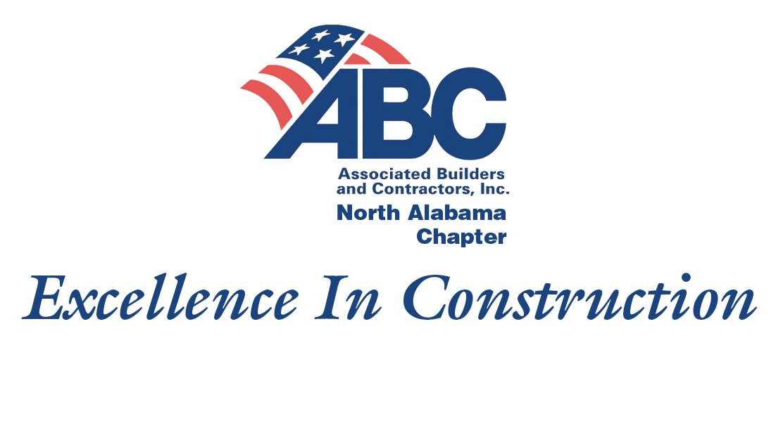 Excellence In Construction Award | Associated Builders and Contractors of North Alabama | Brindley Construction