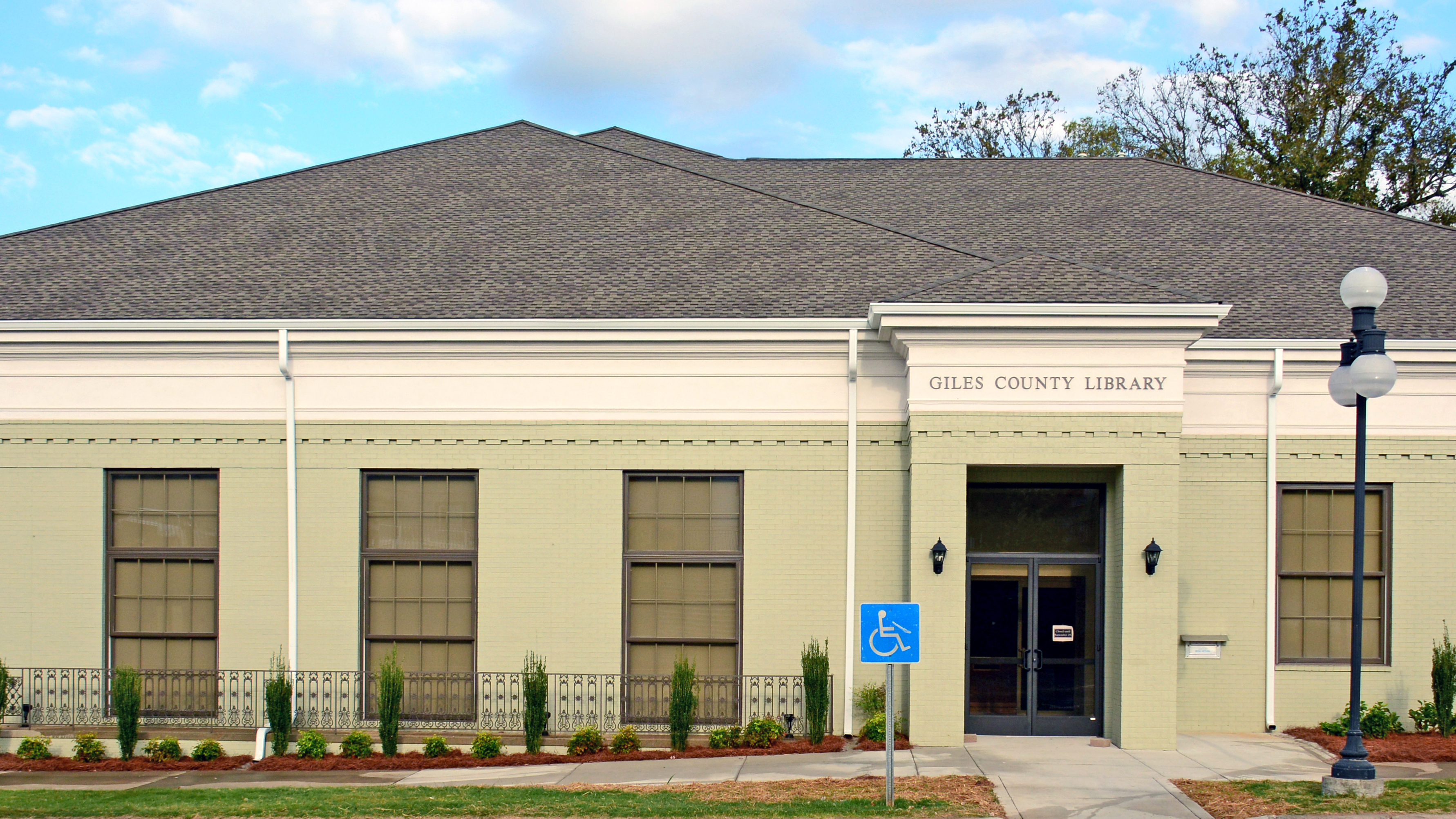 Giles County Public Library | Pulaski, Tennessee | Brindley Construction