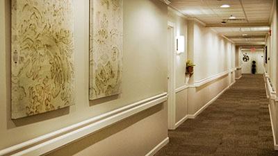 Magnolia Trace Hallway Renovation | Brindley Construction