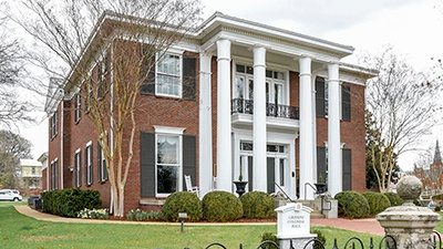 Martin Methodist College Grissom Colonial Hall | Brindley Construction