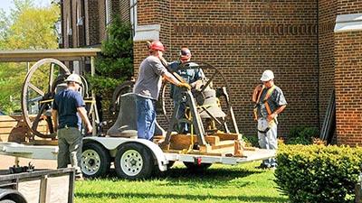 Sacred Heart Bell Tower Restoration | Brindley Construction