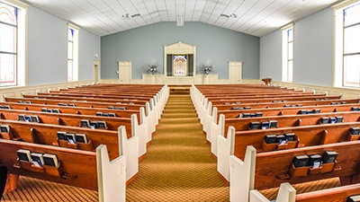Second Street Church of Christ | Pulaski, Tennessee | Brindley Construction