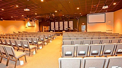 The Rock Family Worship Center | Fayetteville, Tennessee | Brindley Construction