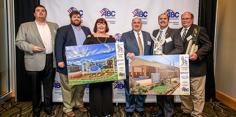 Brindley Construction Earns Awards for Safety and Excellence in Construction