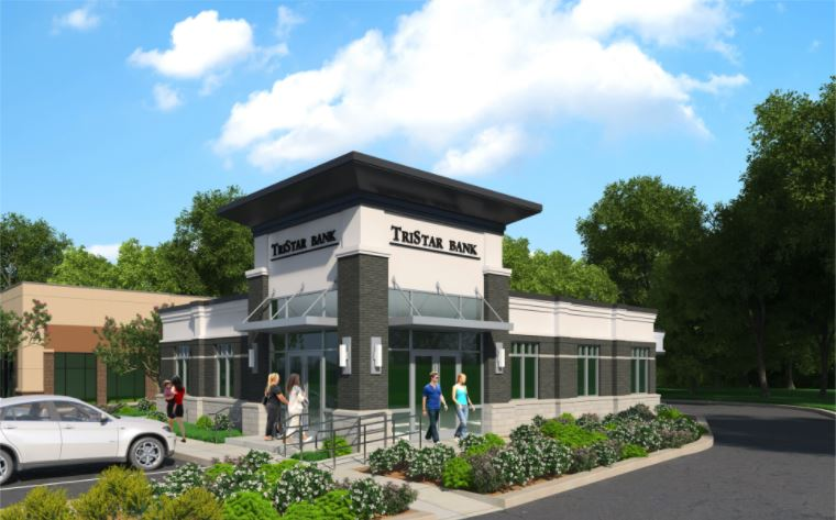 TriStar Bank Rendering